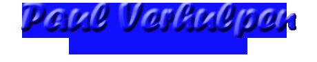 Paul Verhulpen Web Solutions