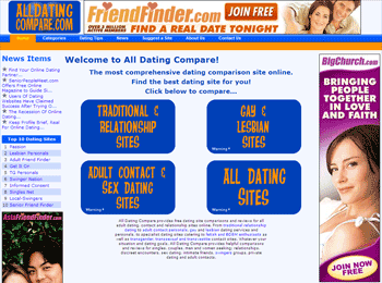 All Dating Compare Home Page